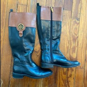 Tommy Hilfiger women's riding boots